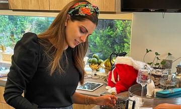 Σταματίνα Τσιμτσιλή: Στην κουζίνα με τα παιδιά της – Τι έφτιαξε αυτή τη φορά;