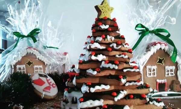 «Η μαγεία των Χριστουγέννων ζωντανεύει μέσα στο ζαχαροπλαστείο του Λάζαρου Κωνσταντινίδη»