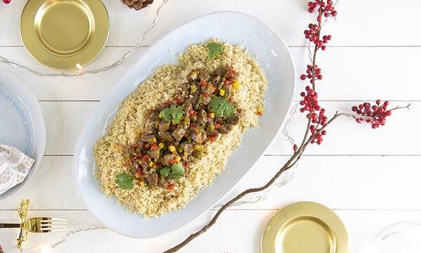 Μοσχαράκι με κινόα: Ένα ιδιαίτερο φαγητό που θα λατρέψετε