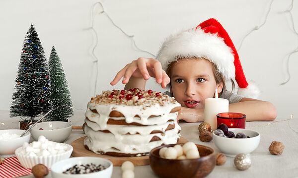Χριστουγεννιάτικα tips για τη διατροφή των παιδιών