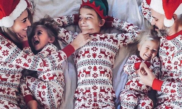 Ρεβεγιόν στο σπίτι: Υπέροχες πιτζάμες για γονείς και παιδιά