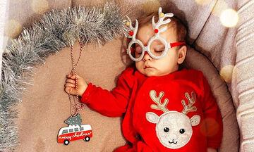 Χαριτωμένα μωράκια στο απόλυτο #christmasmood - Δείτε φωτογραφίες