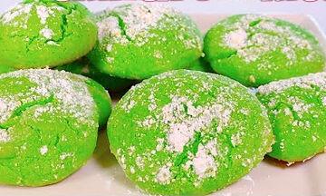 Τα πιο γρήγορα Grinch μπισκότα που θα φτιάξετε ποτέ