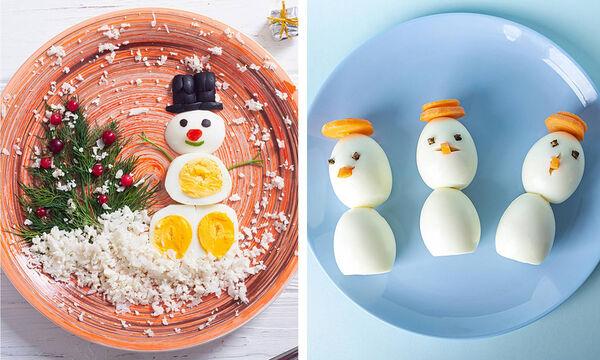 Χριστουγεννιάτικα πιάτα με αυγό που θα ενθουσιάσουν τα παιδιά