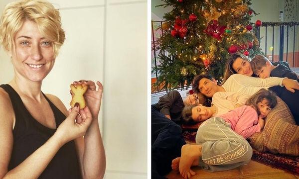 """Με αυτές τις φώτο ευχήθηκαν """"Καλά Χριστούγεννα"""" οι διάσημοι Έλληνες γονείς"""