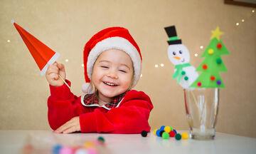 Πέντε εντυπωσιακές χριστουγεννιάτικες χειροτεχνίες για παιδιά