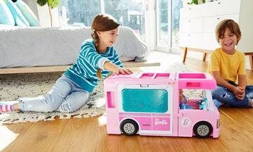 Μεγάλος Διαγωνισμός: Κέρδισε το Dreamcamper Τροχόσπιτο 3 σε 1 της Barbie®!