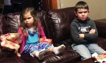 Οι πιο αστείες χριστουγεννιάτικες φάρσες σε παιδιά είναι αυτές (vid)