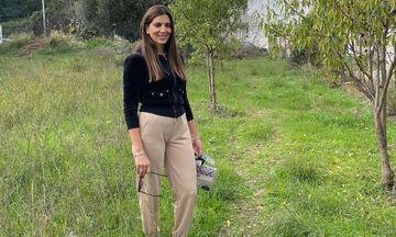 Σταματίνα Τσιμτσιλή: H βόλτα με τον γιο της στο βουνό έκρυβε εκπλήξεις