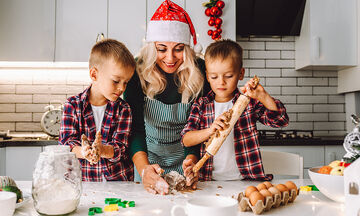 Χριστουγεννιάτικα γλυκά: Δημιουργήστε νόστιμες λιχουδιές με τα παιδιά σας