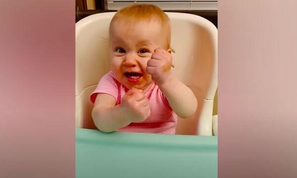 Ξεκαρδιστικό βίντεο με μωράκια που αγριεύουν (vid)