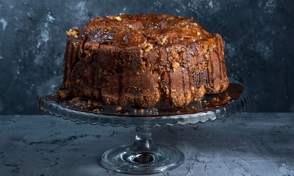 Monkey bread με ουίσκι - Μια συνταγή του Άκη Πετρετζίκη