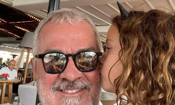 Γιώργος Λύρας: Η απίθανη φώτο της κόρης του Ηλέκτρας