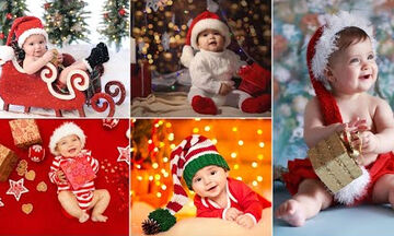 Δείτε τα πιο γλυκά μωράκια ντυμένα Άγιοι Βασίληδες (pics+vid)