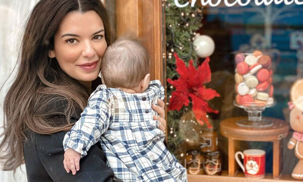 Νικολέττα Ράλλη: Η πρώτη φωτογραφία της κόρης της για το 2021 (pics)