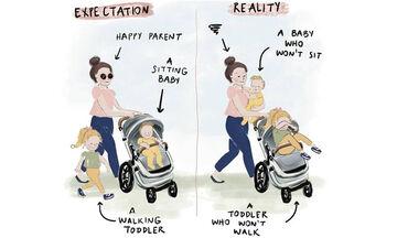 Χιουμοριστικά σκίτσα για τη μητρότητα που κάνουν κάθε μαμά να ταυτιστεί