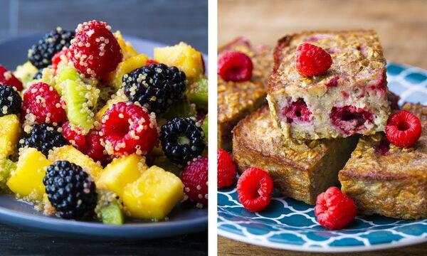 Tips για μαμάδες: 8 συνταγές για πρωινό ιδανικές εάν θέλετε να χάσετε κιλά