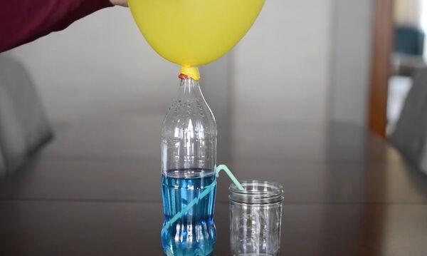 Δέκα εύκολα πειράματα με μπαλόνια για τα παιδιά (vid)