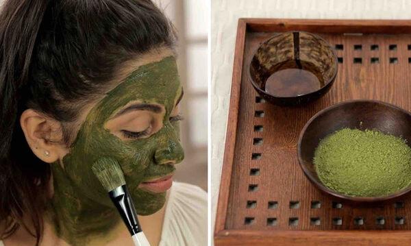 Tips για μαμάδες: DIY μάσκα προσώπου με τσάι matcha για φρέσκια επιδερμίδα