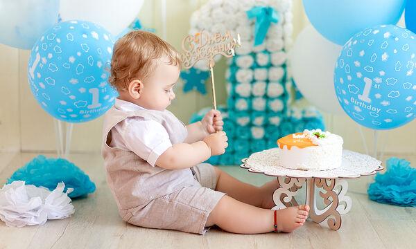 Σπιτική τούρτα με μπανάνα για τα πρώτα γενέθλια του μωρού