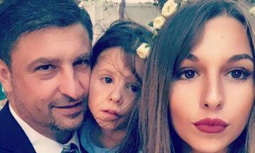Νίκος Χαρδαλιάς: Η φώτο με την 20χρονη κόρη του ανήμερα της γιορτής της