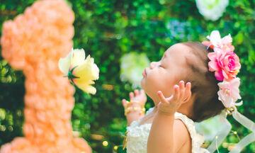 Γράμμα στην κόρη μου για τα πρώτα της γενέθλια