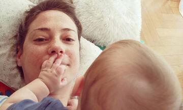 Αλεξάνδρα Ούστα: Ανέβασε την πιο τρυφερή φώτο με τον σύζυγο και τον γιο της