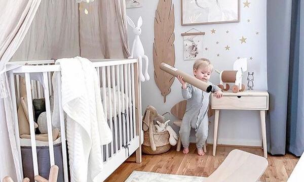 Βρεφικό δωμάτιο: Μοντέρνες ιδέες για να το διακοσμήσετε (pics)