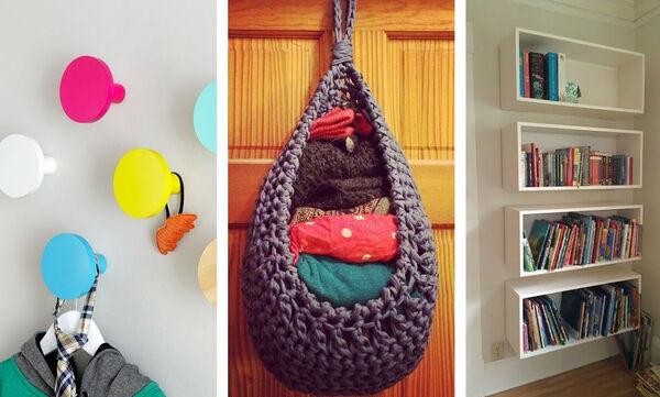 Tips για μαμάδες: 12 οικονομικές λύσεις αποθήκευσης για μικρά σπίτια