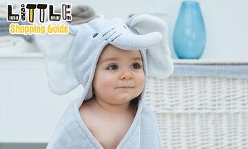 Little Shopping Guide: Oι πιο χαριτωμένες βρεφικές πετσέτες για το μπάνιο του μωρού σας