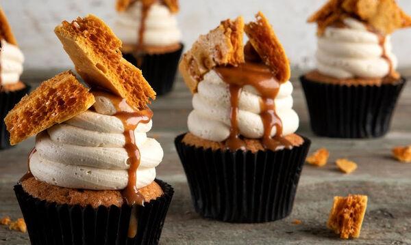 Cupcakes καραμέλας που θα λατρέψουν τα παιδιά