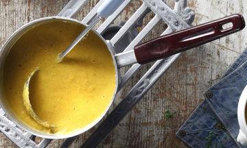 Συνταγή για νόστιμη και γρήγορη σούπα με καρότο και λεμόνι