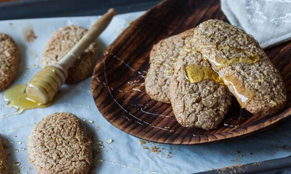 Εύκολα μπισκότα κανέλας - Ένα γλυκό σνακ για το σχολείο