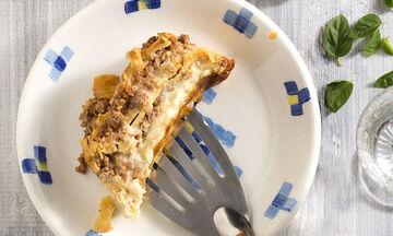Δοκιμάστε αυτή τη συνταγή: Λαζάνια με αρνίσιο κιμά