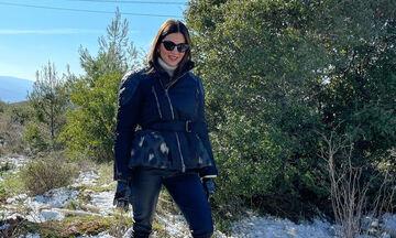 Σταματίνα Τσιμτσιλή: Τι έκανε και πού πήγε με τα παιδιά το Σαββατοκύριακο