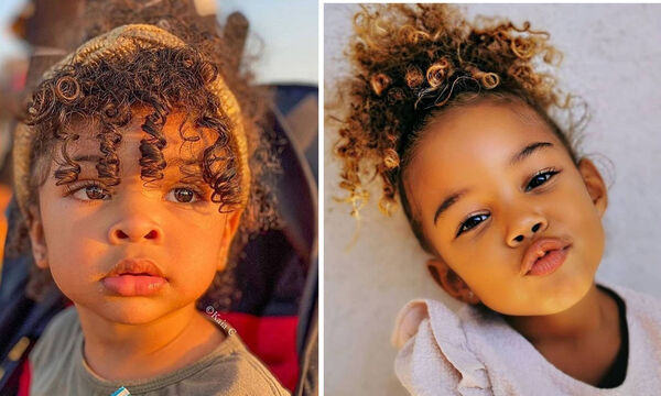 Αυτές τις φωτογραφίες με σγουρομάλλικα παιδιά θα τις λατρέψετε