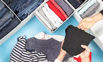 Έξυπνοι τρόποι να διπλώσετε τα ρούχα και να εξοικονομήσετε χώρο