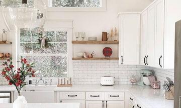 Δέκα ιδέες για να βάψετε την κουζίνα σας σε φωτεινά χρώματα