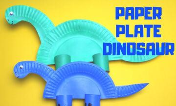 Χειροτεχνίες για παιδιά: Φτιάξτε δεινοσαυράκια εύκολα και γρήγορα