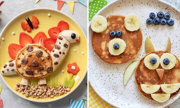 Pancakes με φρούτα: Έξι ιδέες για ευφάνταστα πιάτα (pics)