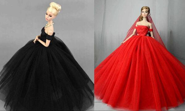DIY - Φτιάξτε εντυπωσιακά φορέματα για κούκλες εύκολα και γρήγορα