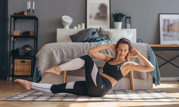 Γυμναστική για μαμάδες:Χάστε το λίπος της κοιλιάς με αυτό το 5λεπτο workout