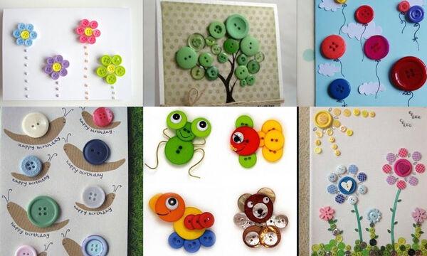 Χειροτεχνίες για παιδιά: Ιδέες για ευφάνταστες κατασκευές με κουμπιά