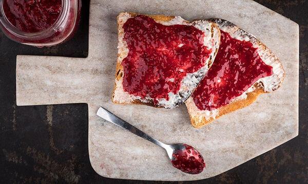 Μαρμελάδα raspberry χωρίς βράσιμο - Δείτε πώς θα τη φτιάξετε