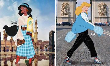 Οι ηρωίδες της Disney έτσι όπως δεν τις έχετε ξαναδεί (pics)