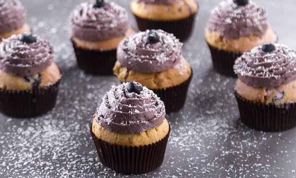 Muffins με μύρτιλα - Θα τα λατρέψουν όλοι στο σπίτι