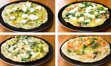 Τέσσερις συνταγές για ομελέτα με λίγες θερμίδες - Νόστιμες και υγιεινές