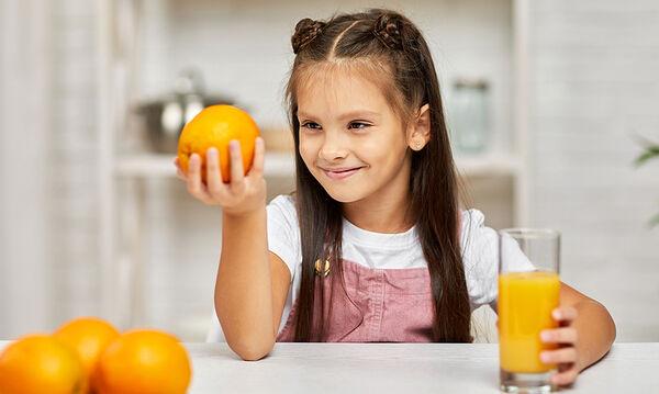 Εσπεριδοειδή φρούτα: Πέντε οφέλη στην υγεία των παιδιών