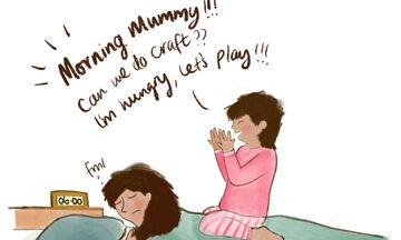 Είσαι μαμά; Με αυτά τα σκίτσα σίγουρα θα ταυτιστείς (pics)