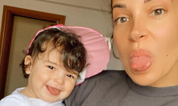 Ελένη Χατζίδου: Δημοσίευσε ένα φοβερό βίντεο με την κόρη της (vid)